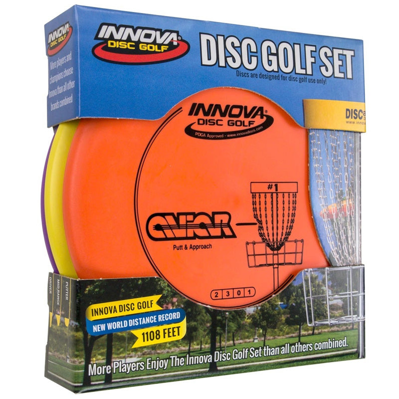 INNOVA DX DISC GOLF SET OF 3