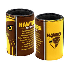 AFL SONG CAN COOLER HAWTHORN HAWKS