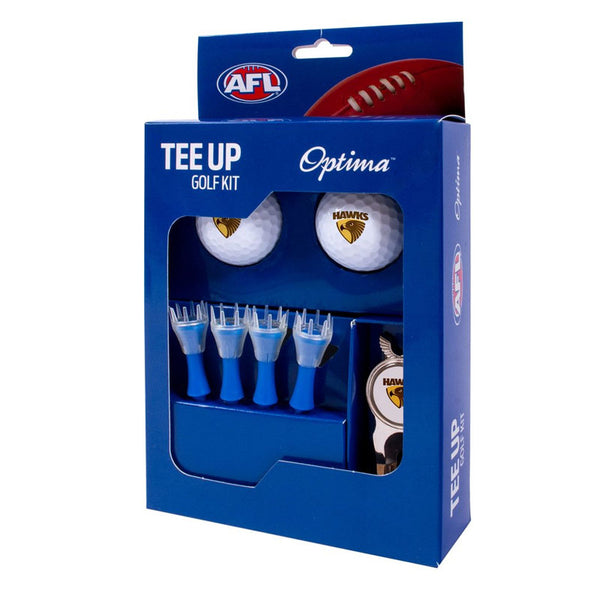 HAWTHORN GOLF 2BALL TEE UP KIT GIFT PACK