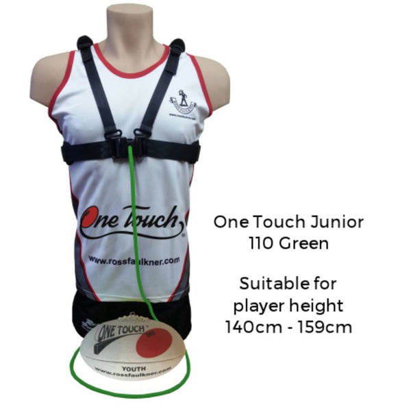 ROSS FAULKNER ONE TOUCH JUNIOR (110 GREEN)