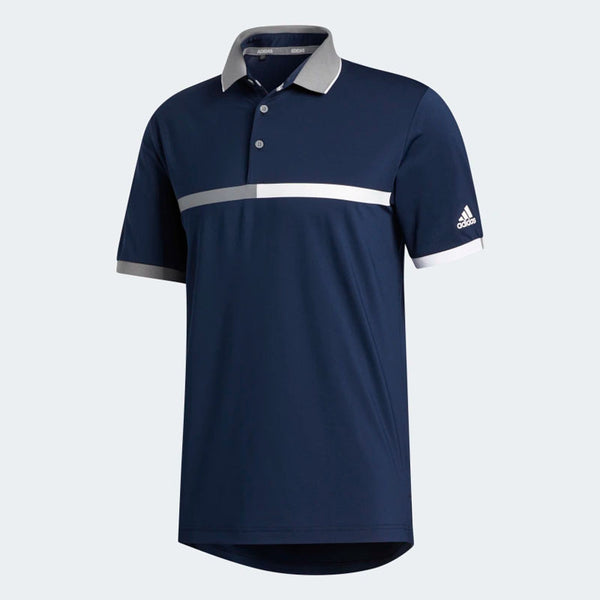 ADIDAS ULTIMATE 365 3 STRIPE POLO