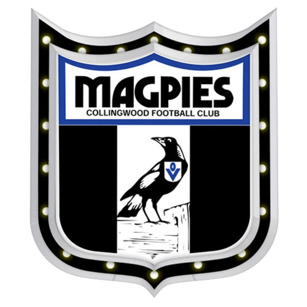 AFL 1ST 18 LIGHT-UP SIGN COLLINGWOOD MAGPIES
