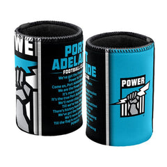 AFL SONG CAN COOLER PORT ADELAIDE POWER