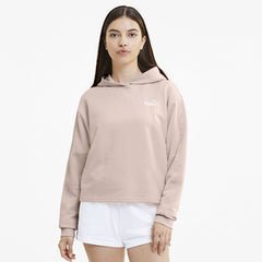 PUMA WOMENS AMPLIFIED CROPPED HOODIE