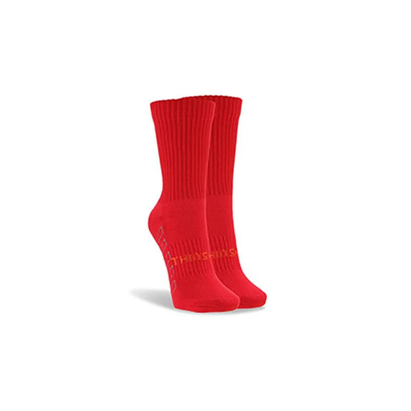 ThinSkins Short Football Socks - Red