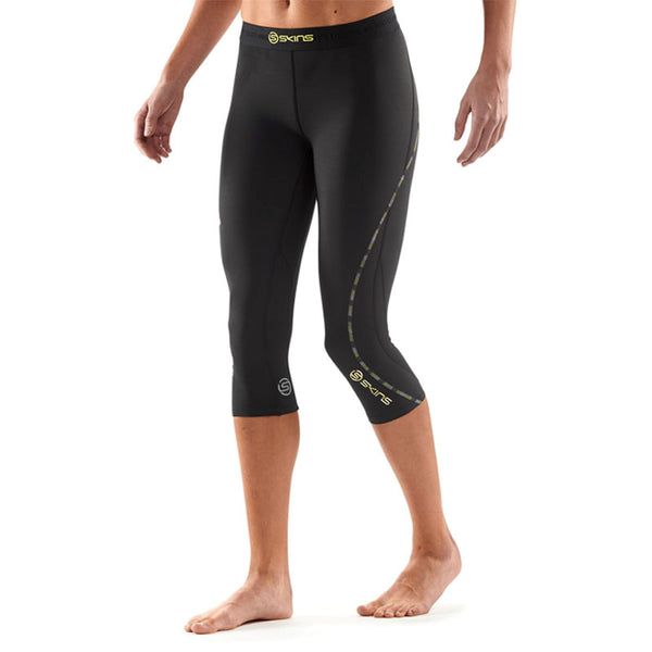 SKINS WOMENS DNAMIC 3/4 COMPRESSION TIGHT