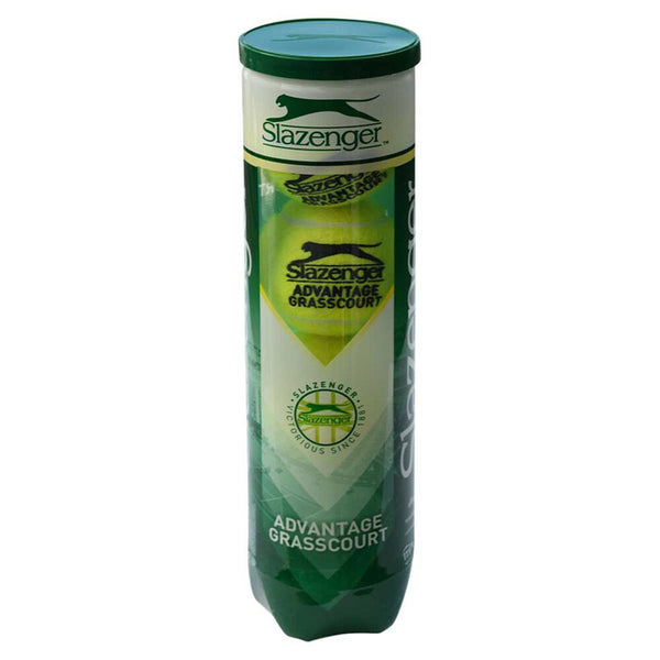 SLAZENGER ADVANTAGE GRASSCOURT 4 PACK TUBE