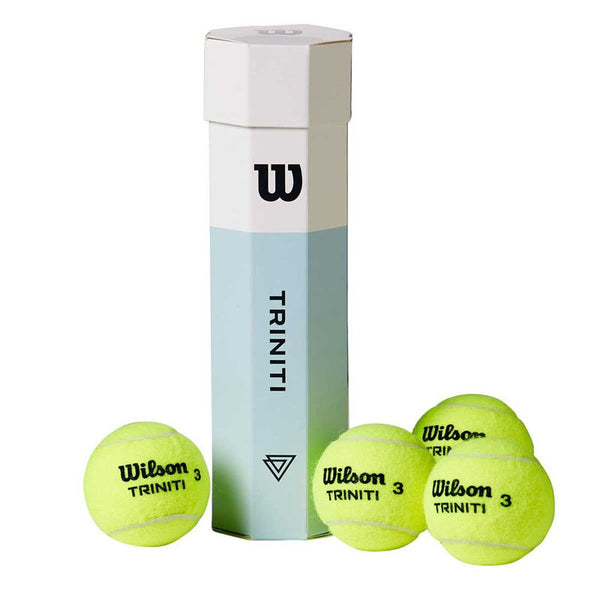 WILSON TRINITI TBALL 4 BALL CAN