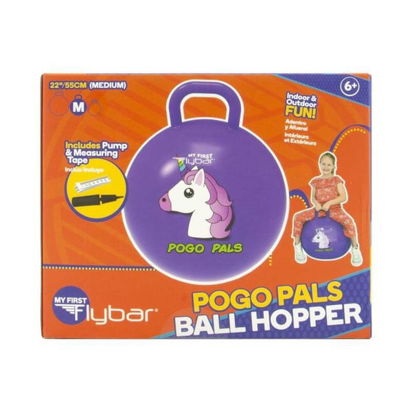 Flybar Pogo Pals Ball Hopper Unicorn