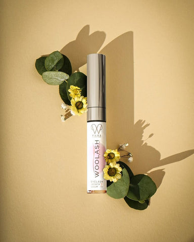 woolash eyelash serum