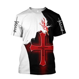 Lover Jesus 3D Printed Unisex T-Shirts 038