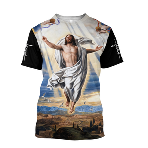 Lover Jesus 3D Printed Unisex T-Shirts 014