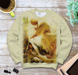 3D ALL OVER PRINTED MaMa Mary SWEATSHIRT 110