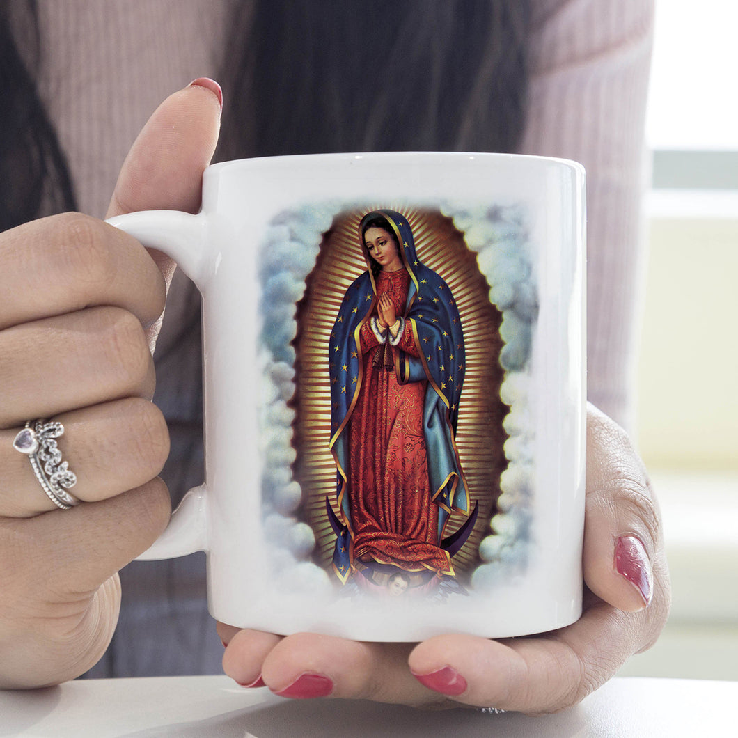 3D ALL OVER PRINTED Our Lady of Guadalupe Magic Mug