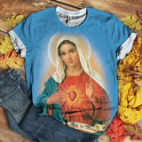 Lover Mary tshirt 3D 1.1