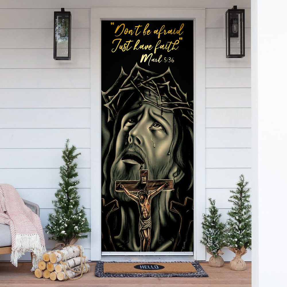 Love Jesus Door Cover KTN044