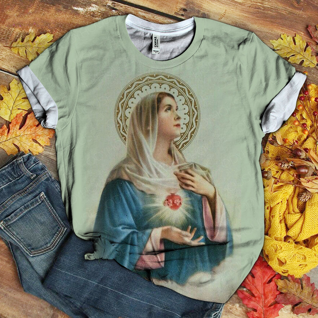 Lover Mary tshirt 3D 1.2