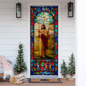 Love Jesus Door Cover KTN046