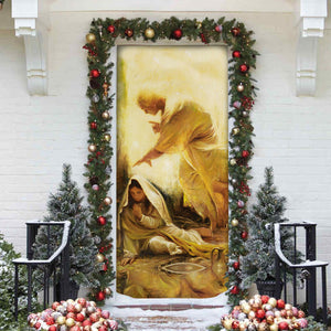 3D ALL OVER PRINTED MaMa Mary Door cover 110