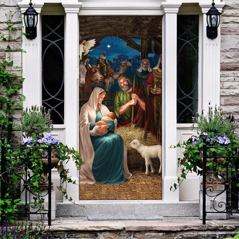 Love Jesus Door Cover KTN007