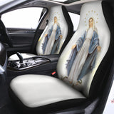 3D ALL OVER PRINTED MaMa Mary Car Seat Cover 112