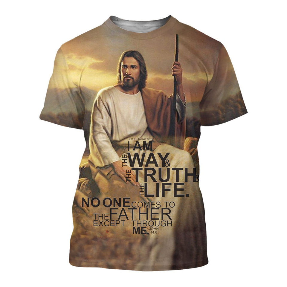 Lover Jesus 3D Printed Unisex T-Shirts 046