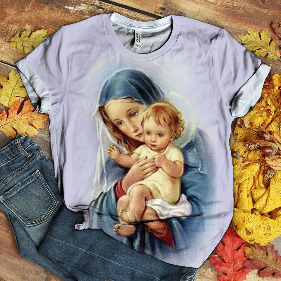Lover Mary tshirt 3D 1.12