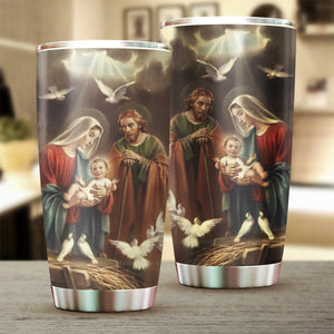 3D ALL OVER PRINTED MaMa Mary TUMBLER CUP 111