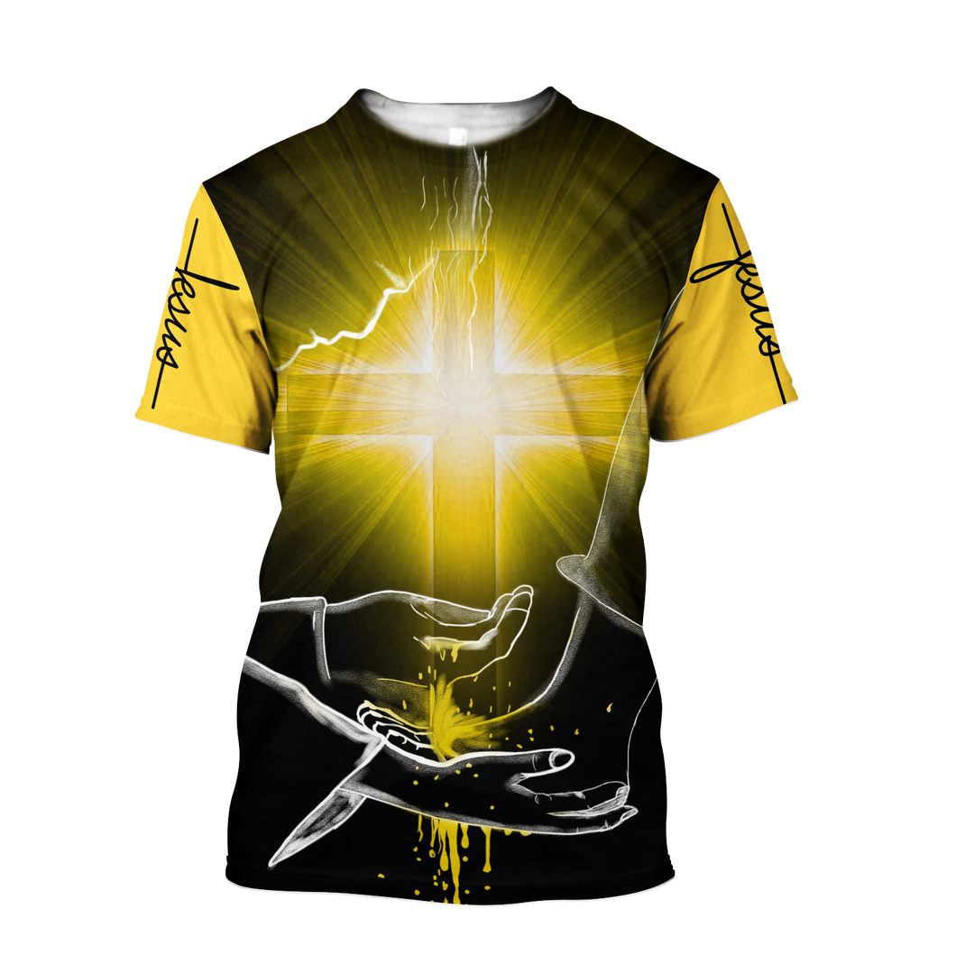Lover Jesus 3D Printed Unisex T-Shirts 051