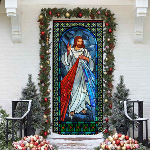 Love Jesus Door Cover KTN015