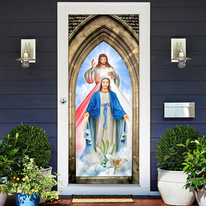 Love Jesus Door Cover KTN020