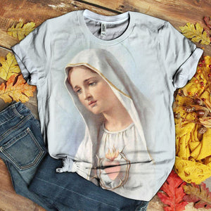 Lover Mary tshirt 3D 1.3