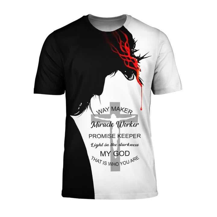 Lover Jesus 3D Printed Unisex T-Shirts 001