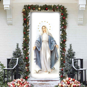 3D ALL OVER PRINTED MaMa Mary  Door cover 112