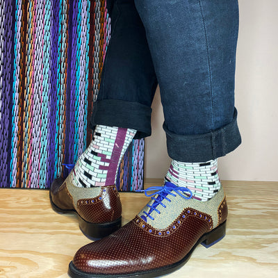Mulberry Brick Socks