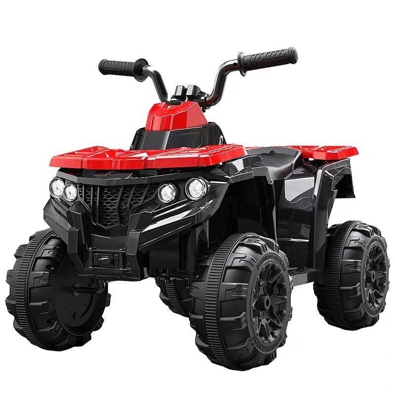 Children's electric car baby toy four-wheel remote control car can sit on people stroller motorcycle ATV