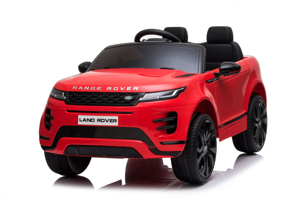 Kids Ride On Car Land Rover 12V Battery Powered Electric Ride On Car ,2.4G Remote Parental Remote Control, LED Lights, Safety Belt, MP3 Player,Plastic seat