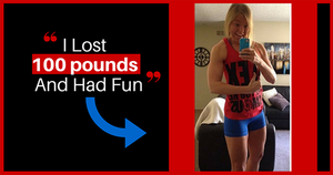 How One Woman Lost Nearly 100 Lbs by Making Weight Loss Fun