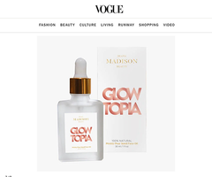 Diana Madison Beauty featured in Vogue