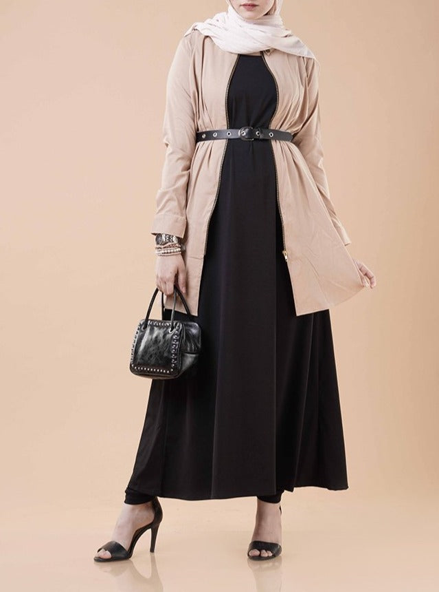 Black Layering Essential Dress