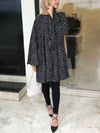Black Forest Striped Button Down Shirt - Modest Essentials