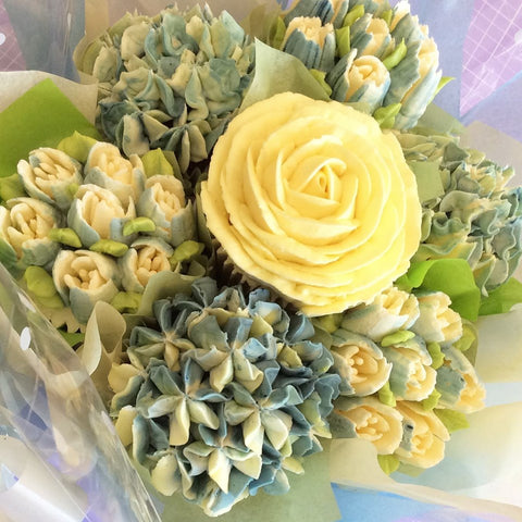 Baby Shower Cupcake Bouquet