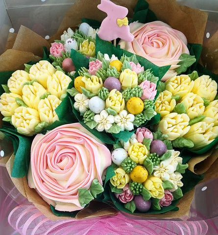Easter Bouquet with mini Chocolate Eggs