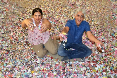 When paper flowers spread the fragrance of love and joy; a Bengaluru couple's journey to riches