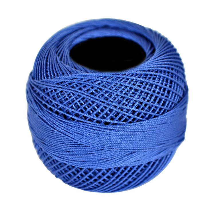 Crochet Thread 20 gm Ball- Dark Blue
