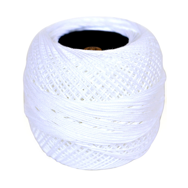 Crochet Thread 20 gm- White