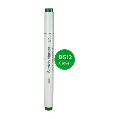 Dual Tip Alcohol Based Sketch Marker - Clover, 1pc