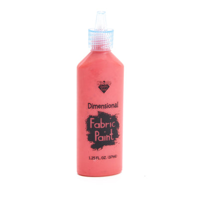 Dimensional Fabric Paint - Pearl Red, 1.25oz, 37ml, 1 Bottle