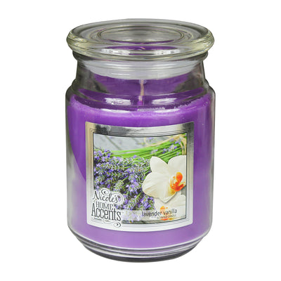 Scented Jar Candle - Lavender Vanilla, Large, 1pc