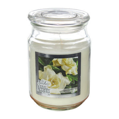 Scented Jar Candle - Gardenia, Large, 1pc